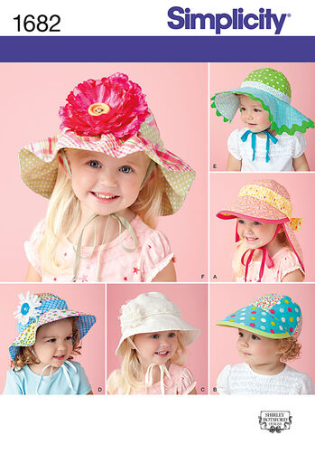 Child's Hats in Four Sizes