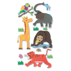 Foam Zoo Animal Stickers_SPJH004