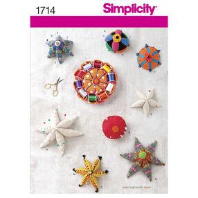Simplicity Pattern 1714 Pin Cushions