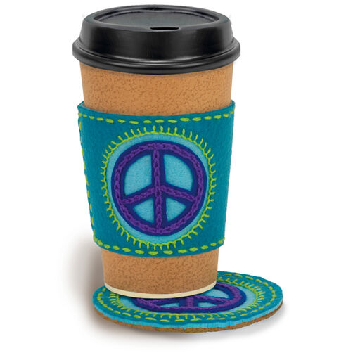 Peace Sign Coaster+ Cozy_72-73583
