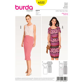 Burda Style Pattern B6522 Misses' Sheath Dress