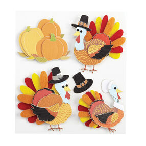 Turkey Character Stickers_50-20959