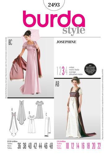 Burda Style Pattern 2493 Josephine