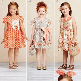Child's Dresses, Purses and Headband