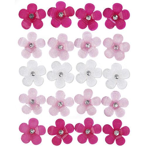 Vintage Acrylic Flower Embellishment_41-09044