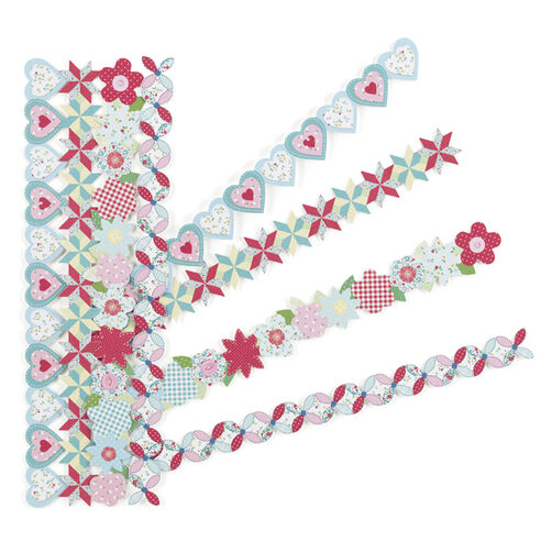 Stitched Hearts Border Stickers_41-00318