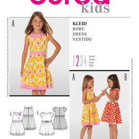 Burda Style Pattern 9545 Dress