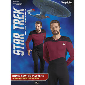 Simplicity Pattern 100401 Men's Star Trek Suit