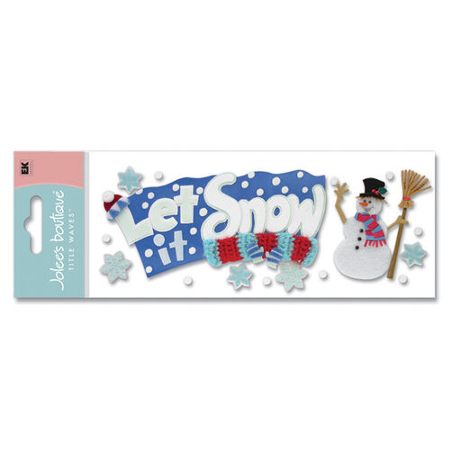 Let It Snow Title Stickers_SPJT48