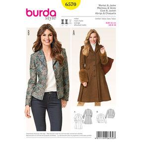 Burda Style Pattern 6570 Jacket