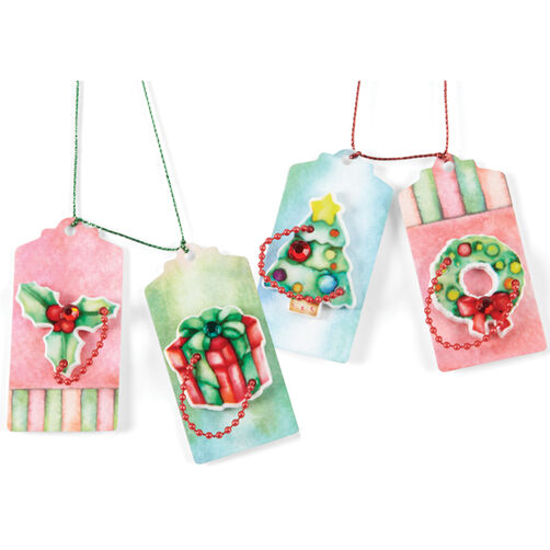 Red+Green Paper Tag Set_50-00432