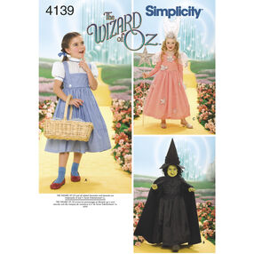 Simplicity Pattern 4139 Child's Costumes