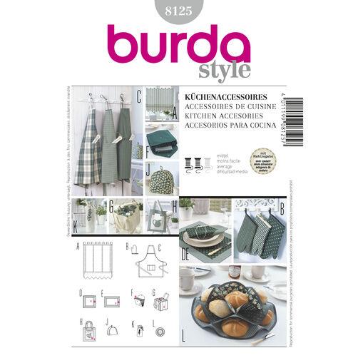Burda Style Pattern 8125 Kitchen Accessories