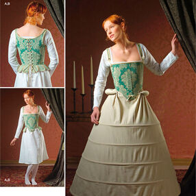 Simplicity Pattern 2621 Misses Costumes