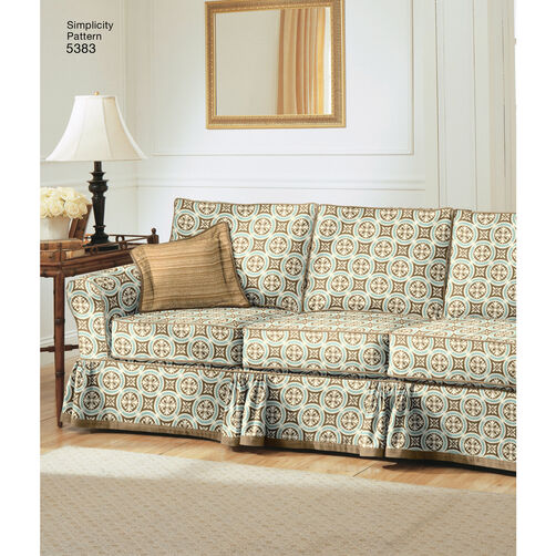 Http Www Simplicity Com Simplicity Pattern 5383 Home Decorating Slipcovers Pillows U05383os Html