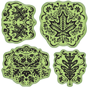 Maple Leaf Cling Stamps_65-32074