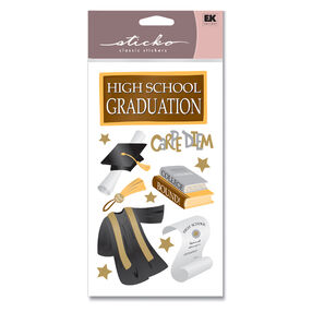 High School Graduate Classic Stickers_SPSEAS12