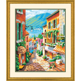 Village Steps, Paint by Number_73-91466