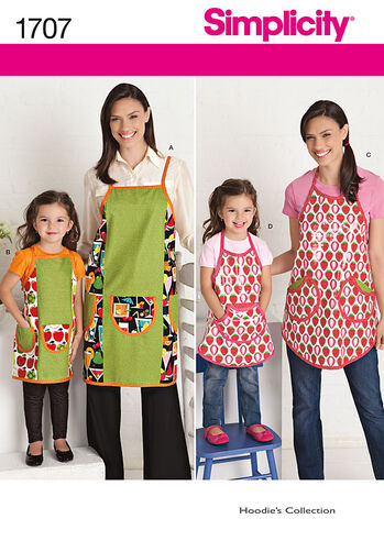 Child's and Misses' Aprons