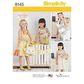 Simplicity Pattern 8145 Child's Pattern from Ruby Jean's Closet