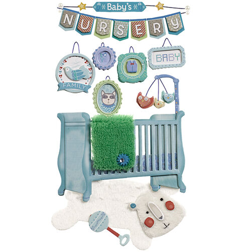 Baby Boy Nursery Stickers_50-50630