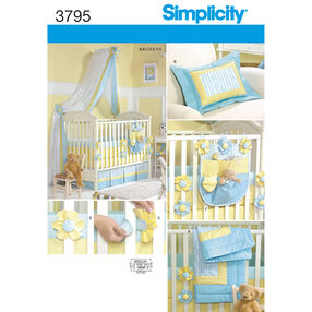Simplicity Pattern 3795 Nursery Accessories