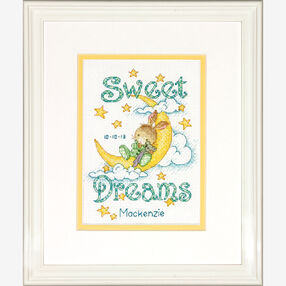 Sweet Dreams Birth Record Counted Cross Stitch_70-73923