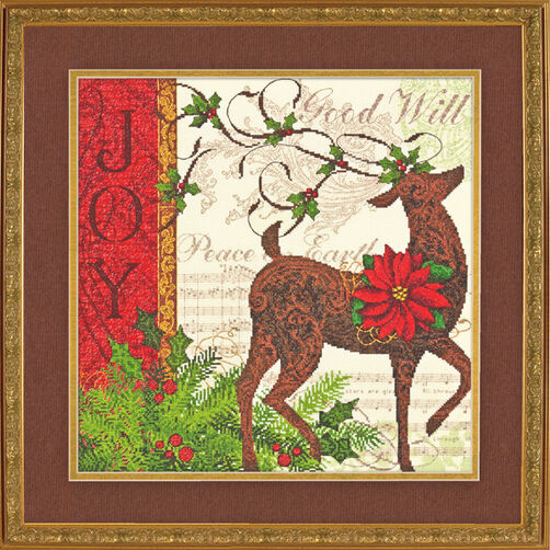 Winter Reindeer, Counted Cross Stitch_70-08851