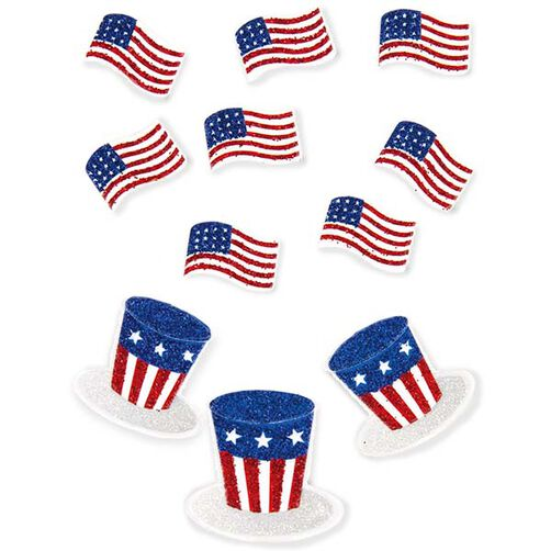 Flags and Hats Embellishments_50-00465