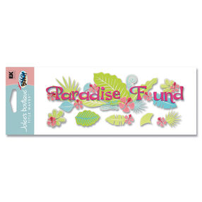 Paradise Found Title Sticker Stickers_SPJT30