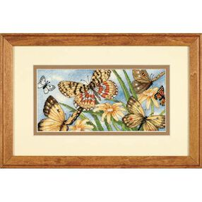 Butterfly Vignette, Counted Cross Stitch_65055