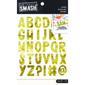 SMASH Gold Alpha Stickers_30-687141