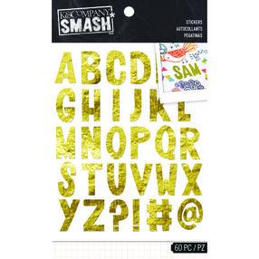 SMASH Gold Alpha Stickers_30-687141
