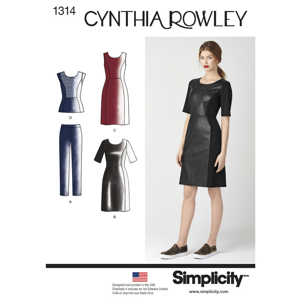 Pattern For Misses Dress Amp Sportswear Cynthia Rowley