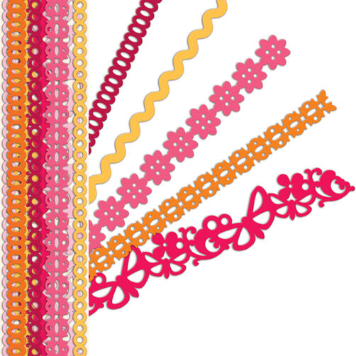 Sheer Simplicity Red Adhesive Borders_30-387751