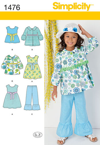 Child's Dress, Top, Pants and Jacket
