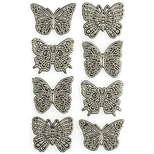 Elegant Filigree Butterfly Stickers_41-05021