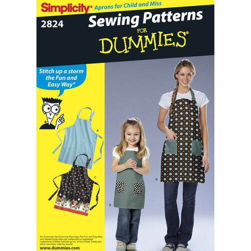 Simplicity Pattern 2824 Aprons