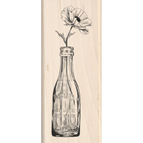 Vintage Bottle Flower_60-00457