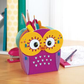 American Girl Crafts 3D Felt Owl Storage Kit_30-726369