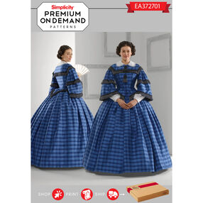Simplicity Pattern EA372701 Premium Print On Demand Costume Pattern
