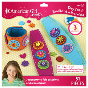 Easy Stitch Headband & Bracelets Kit_30-669659