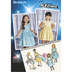 Simplicity Pattern 1171 Toddlers' and Child's Special Occasion Dresses