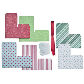 Merry & Bright Christmas Treat Box Gift Kit_48-30327