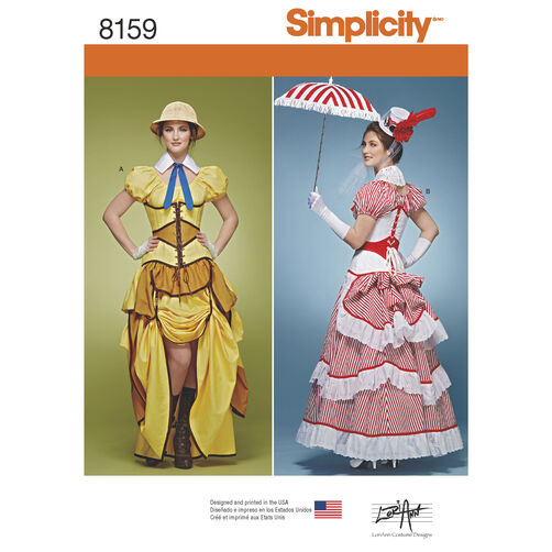 Steam Ingenious: New Simplicity Steampunk Sewing Patterns (and a bit ...