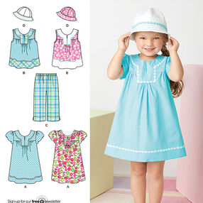 Child's Easy to Sew Dresses