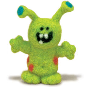 Monster Felted Character Needle Felting Kit_72-73797