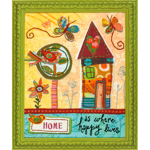 Home is Happy, Embroidery_72-73771