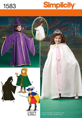 Child's Caped Costume