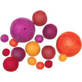 Warm Wool Felt Ball Assortment_73323